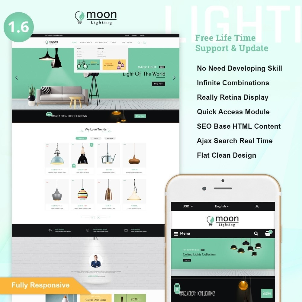 Moon – Lighting Decor Shop