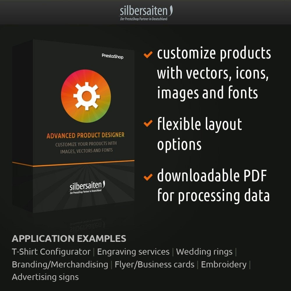 module - Combinations & Product Customization - Advanced Product Customizer - 1