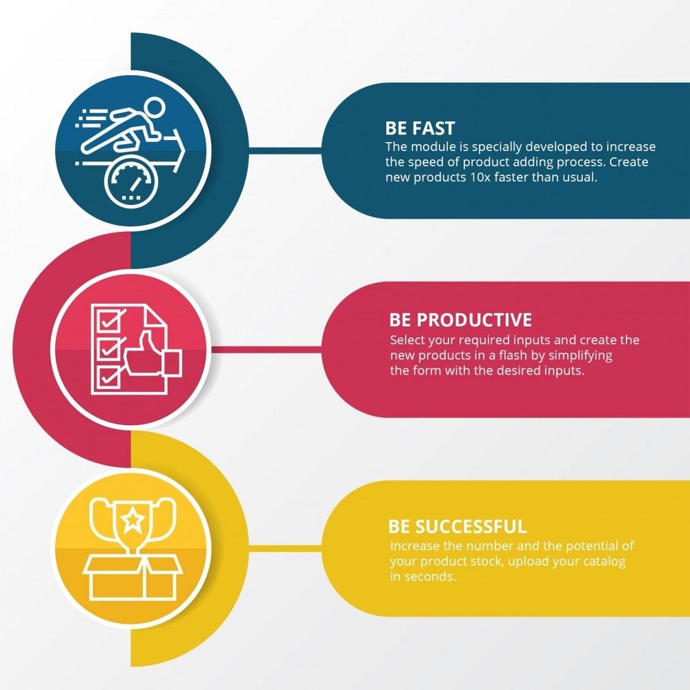 module - Szybkie & Masowe edytowanie - Szybkie dodawanie produktów - Twórz produkty szybciej - 2