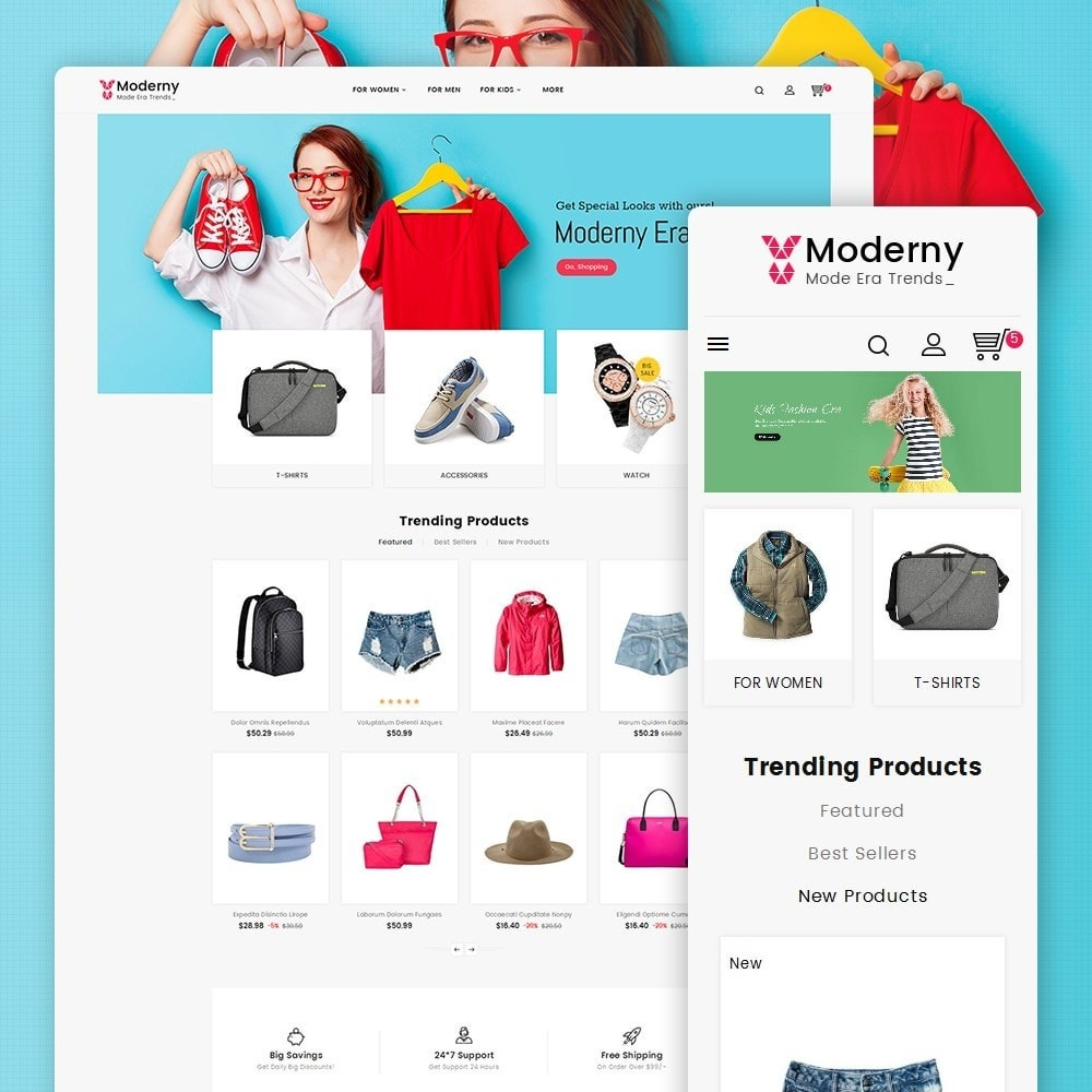 theme - Fashion & Shoes - Moderny Fashion - 1