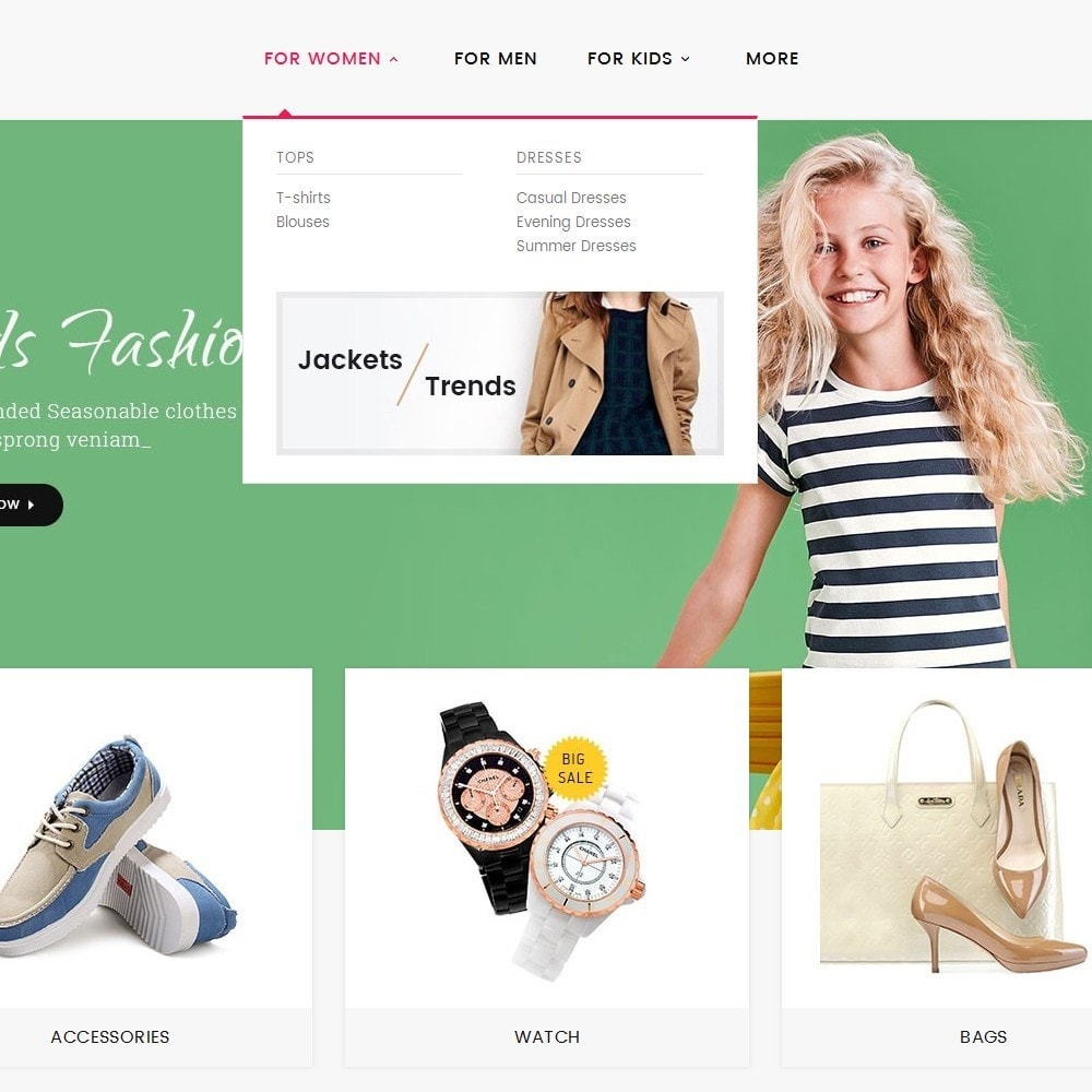 theme - Fashion & Shoes - Moderny Fashion - 8