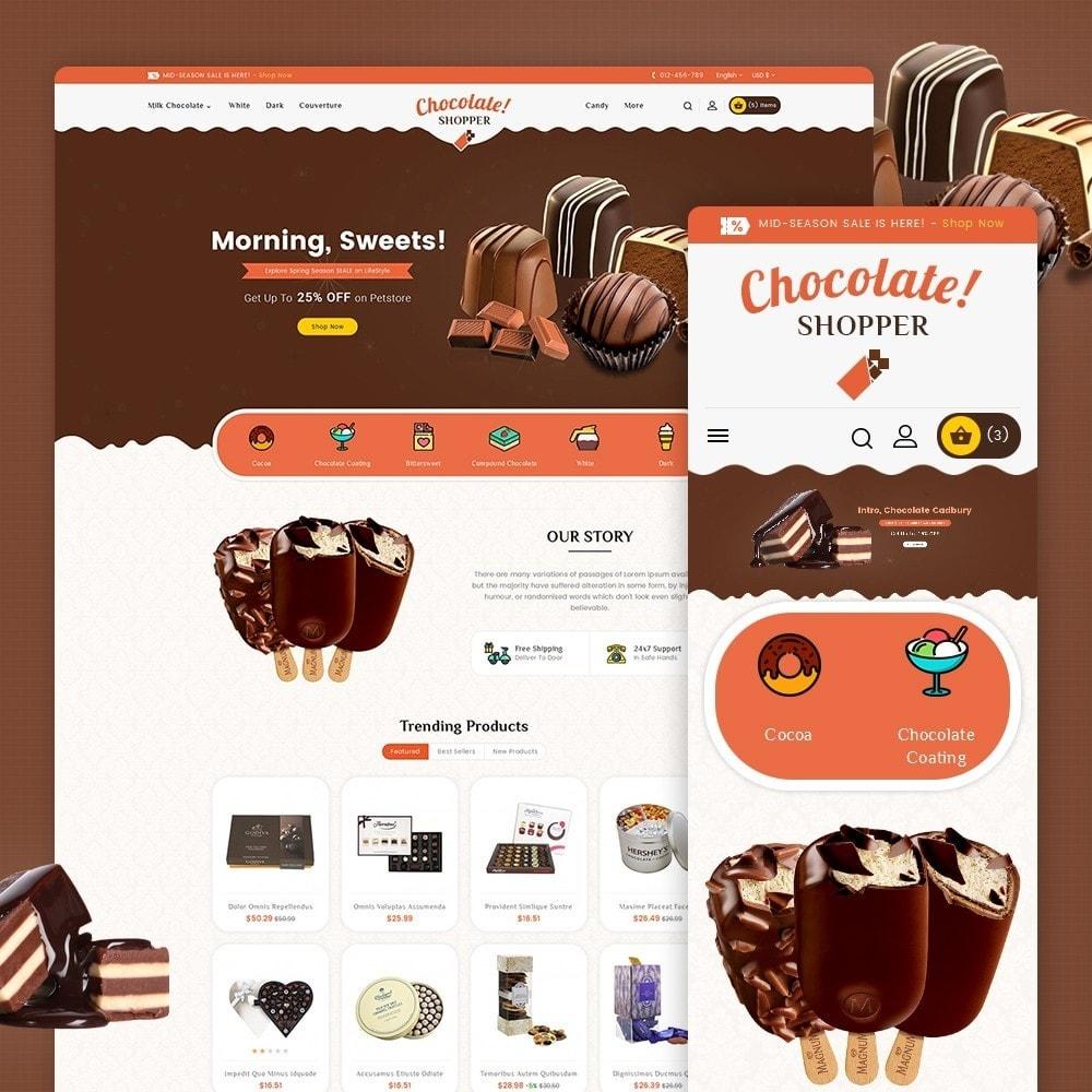 theme - Geschenke, Blumen & Feiern - Chocolate Cream - 1