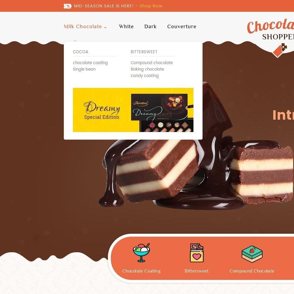 theme - Подарки, Цветы и праздничные товары - Chocolate Cream - 8