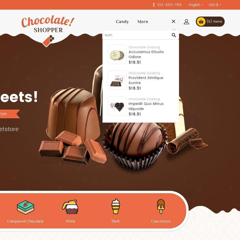 theme - Подарки, Цветы и праздничные товары - Chocolate Cream - 9