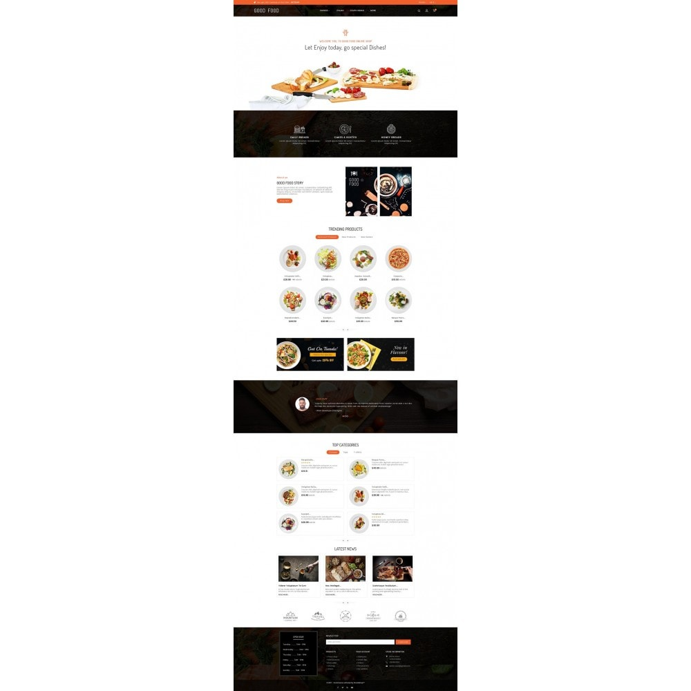 theme - Alimentos & Restaurantes - Good Gusto Food - 2