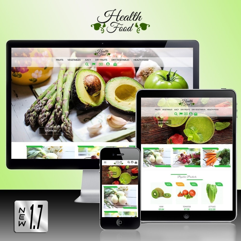 theme - Gastronomía y Restauración - Healthy Food - 1