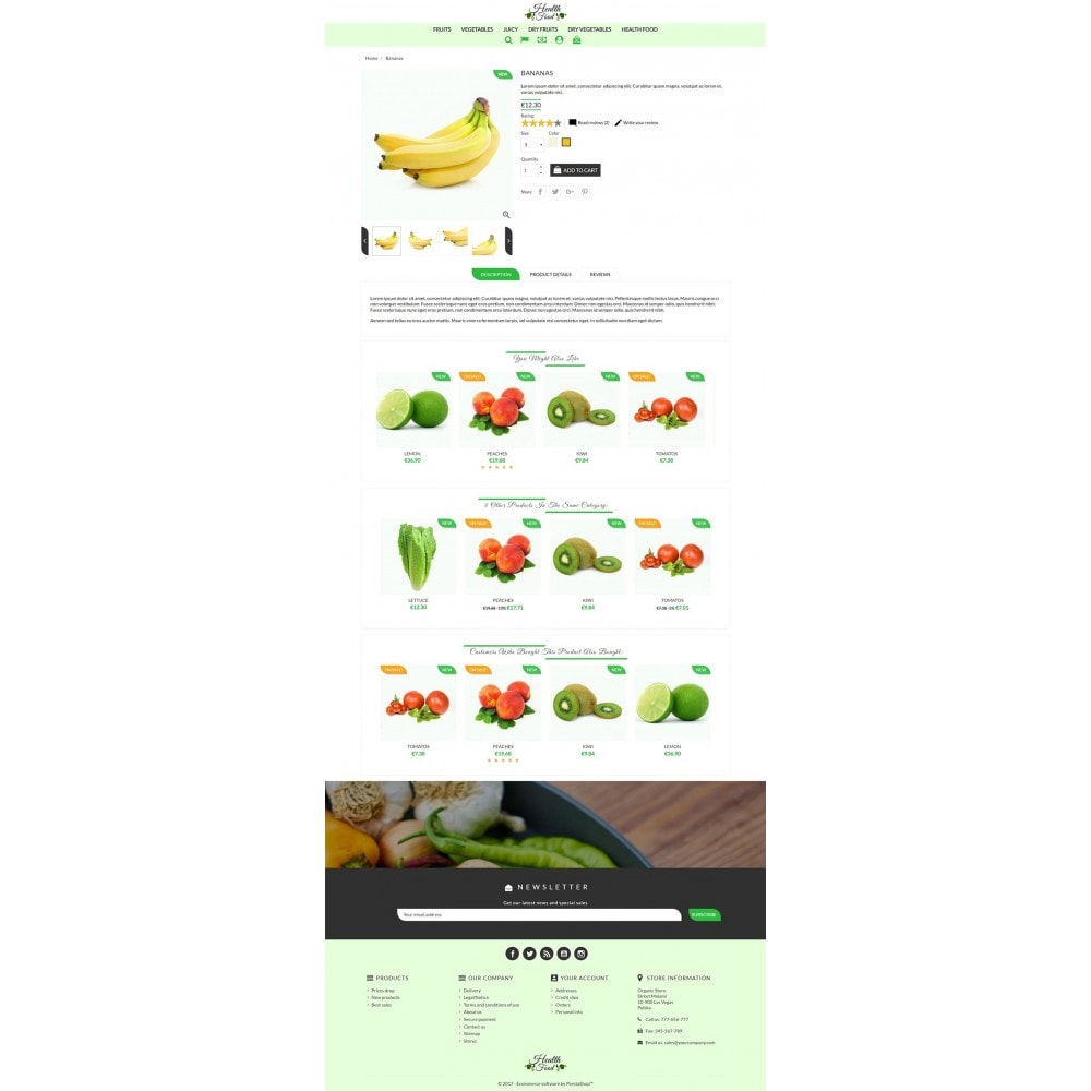 theme - Lebensmittel & Restaurants - Healthy Food - 3