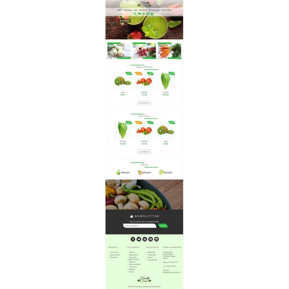 theme - Żywność & Restauracje - Healthy Food - 6