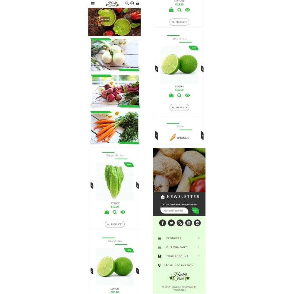 theme - Żywność & Restauracje - Healthy Food - 7
