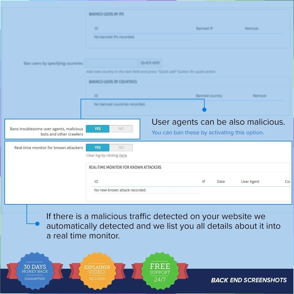 module - Sécurité & Accès - Protect Shop PRO / Anti Hack - 18