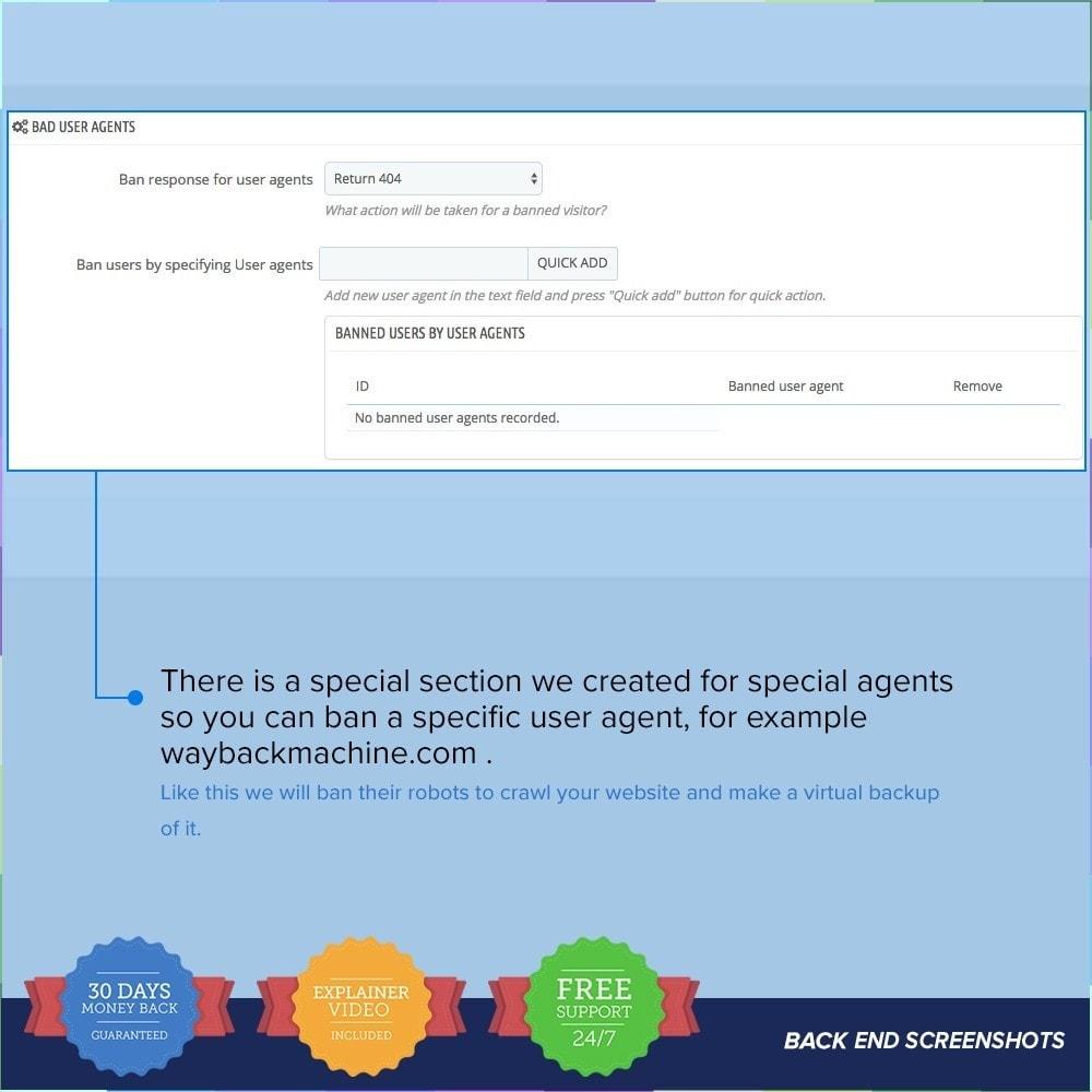 module - Безопасности и доступа - Protect Shop PRO / Anti Hack - 19