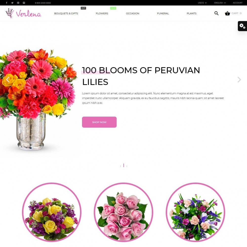 theme - Gifts, Flowers & Celebrations - Verlena - 2
