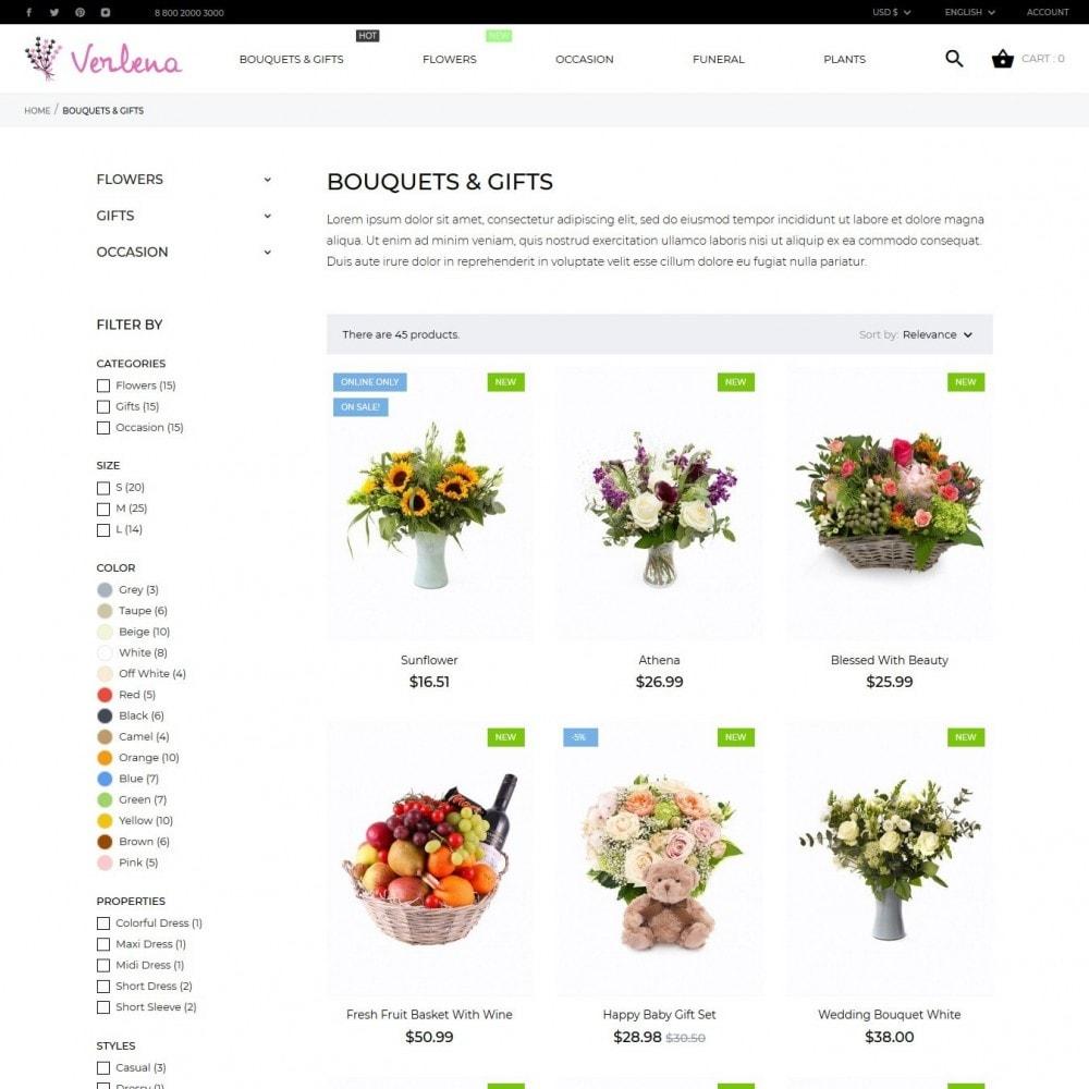 theme - Prezenty, Kwiaty & Uroczystości - Verlena - 6