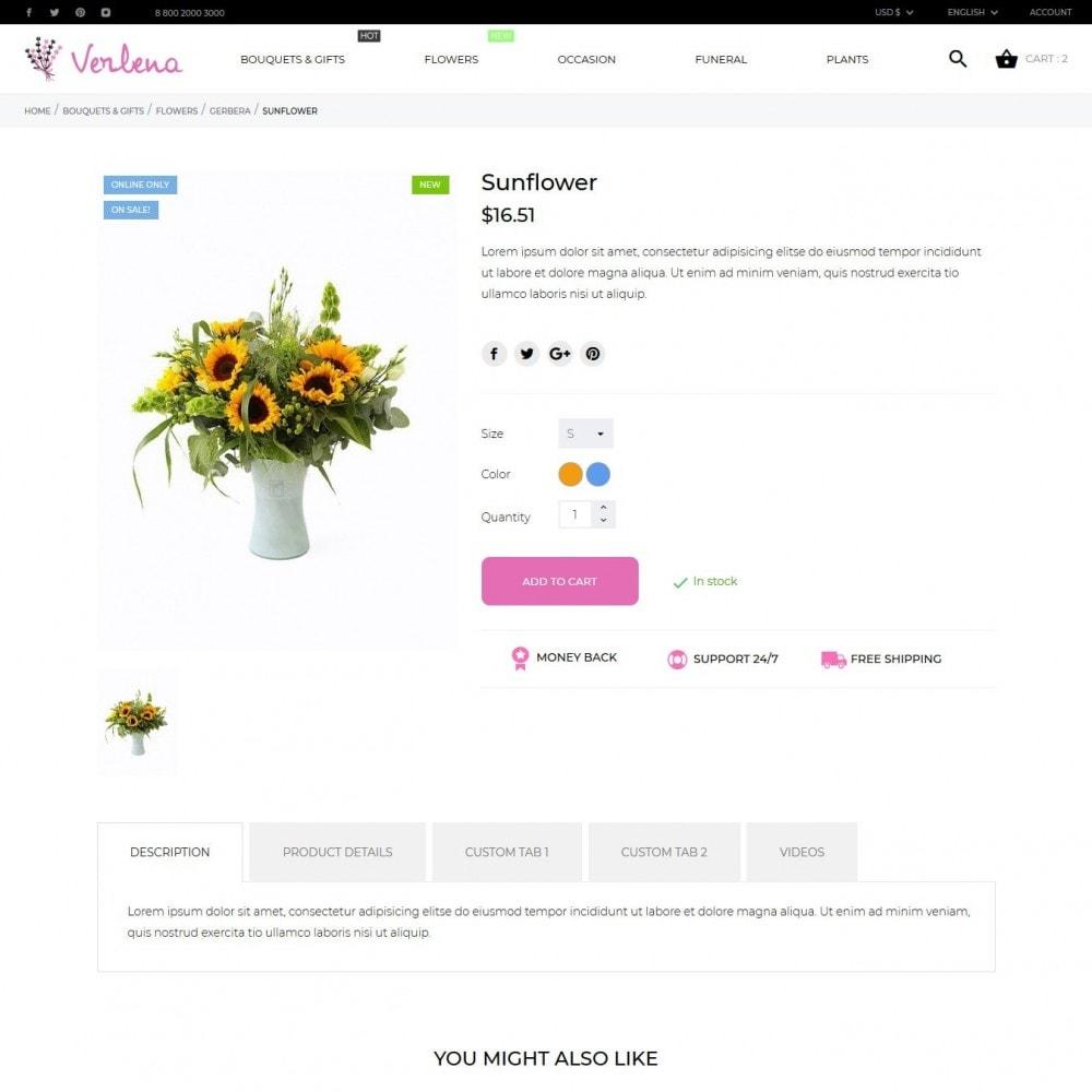 theme - Prezenty, Kwiaty & Uroczystości - Verlena - 7