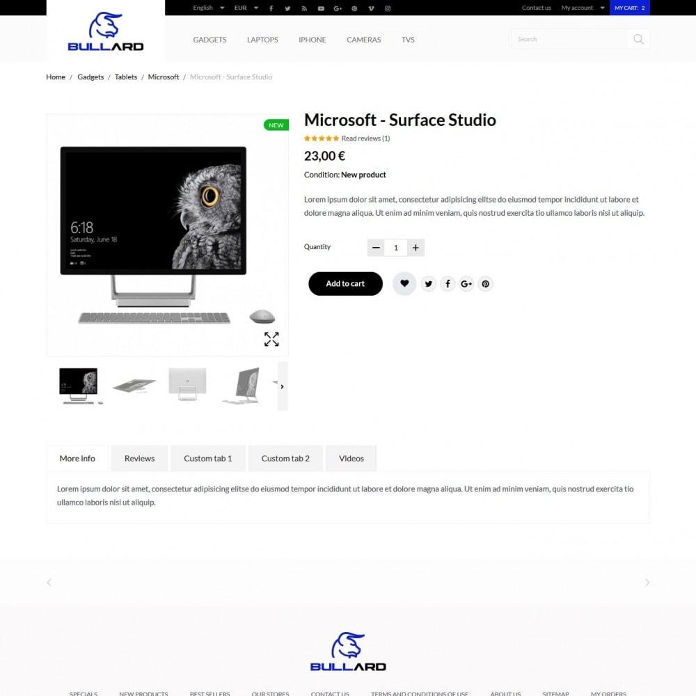 theme - Электроника и компьютеры - Bullard - High-tech Shop - 6