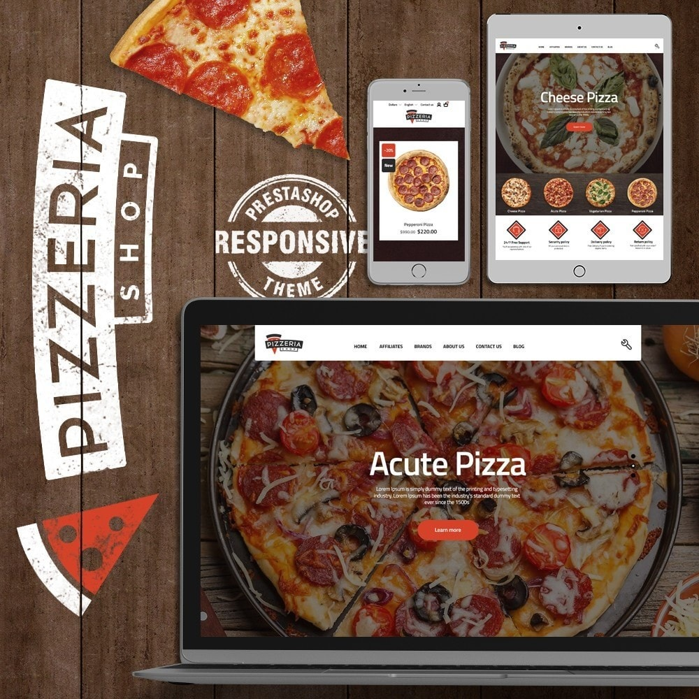 theme - Eten & Restaurant - Pizzeria - 1