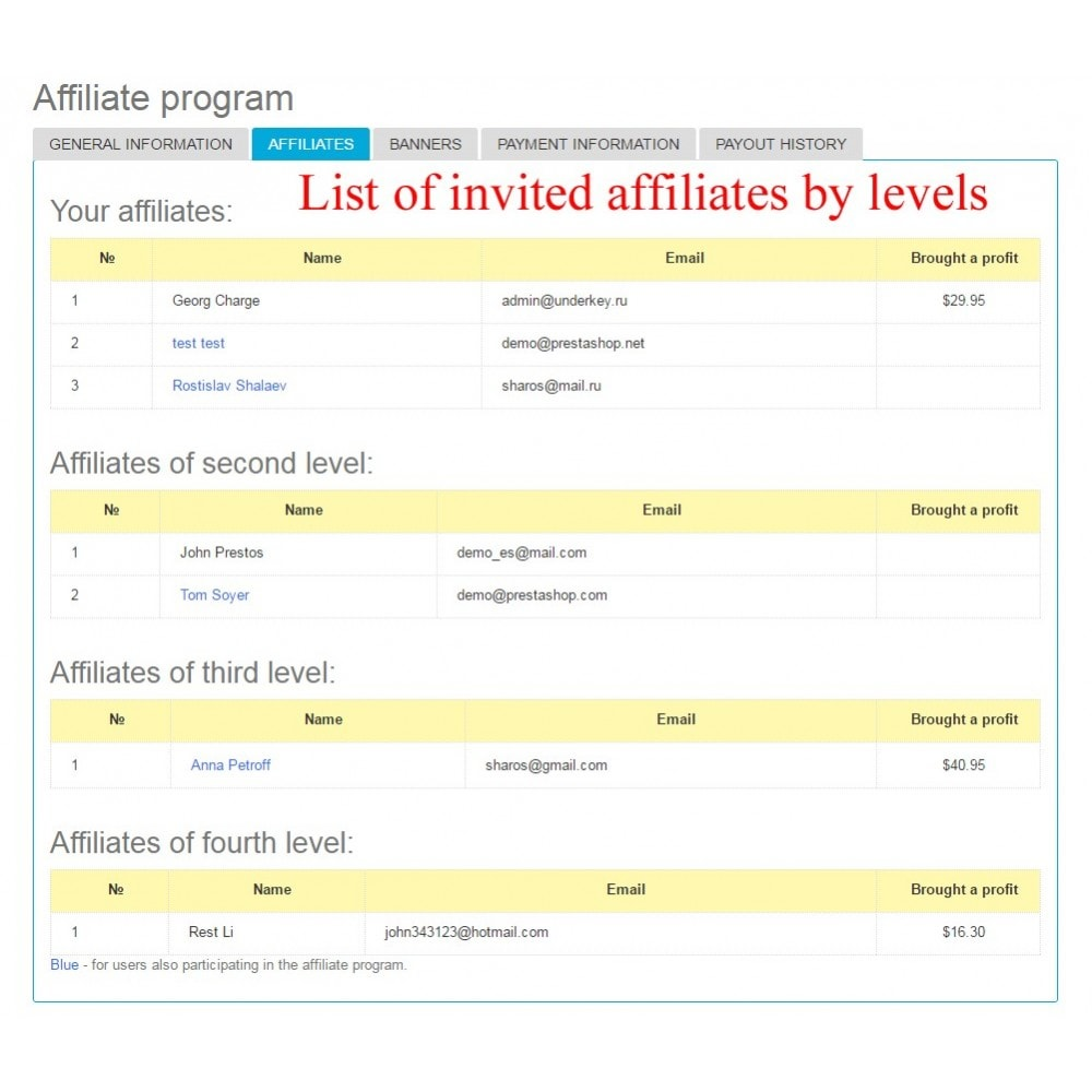 module - SEA SEM (paid advertising) & Affiliation Platforms - Extended Affiliate Program RefPRO - 19