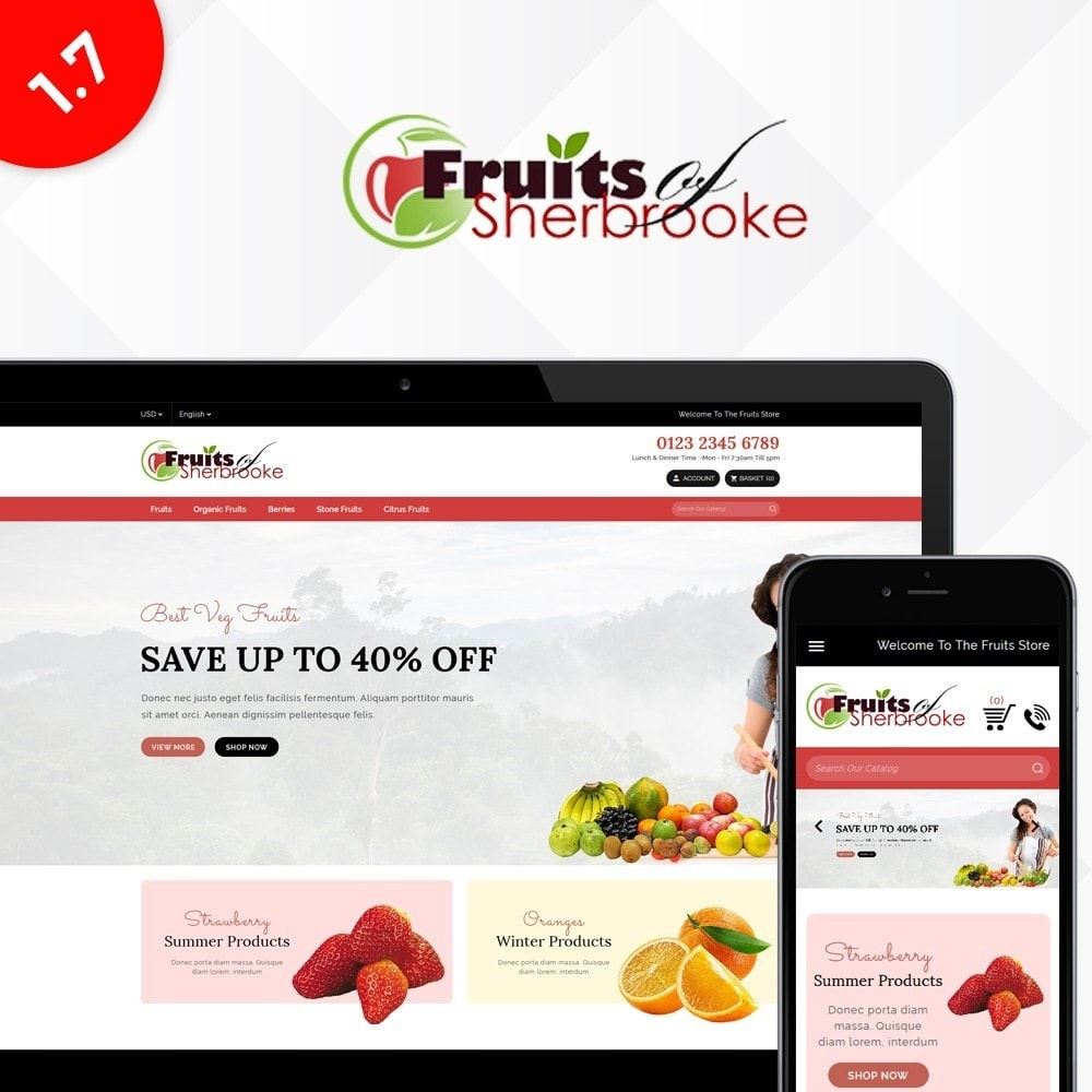 Fruits store