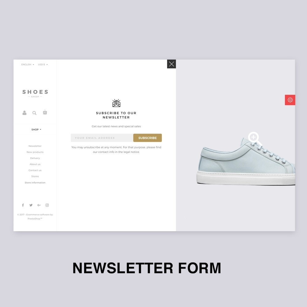 theme - Мода и обувь - Configurable Shoes Theme - 10