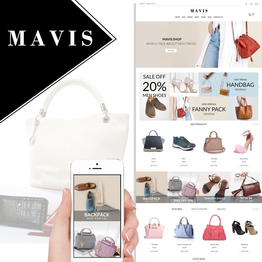 Bag Shoes Fashion Mavis Store