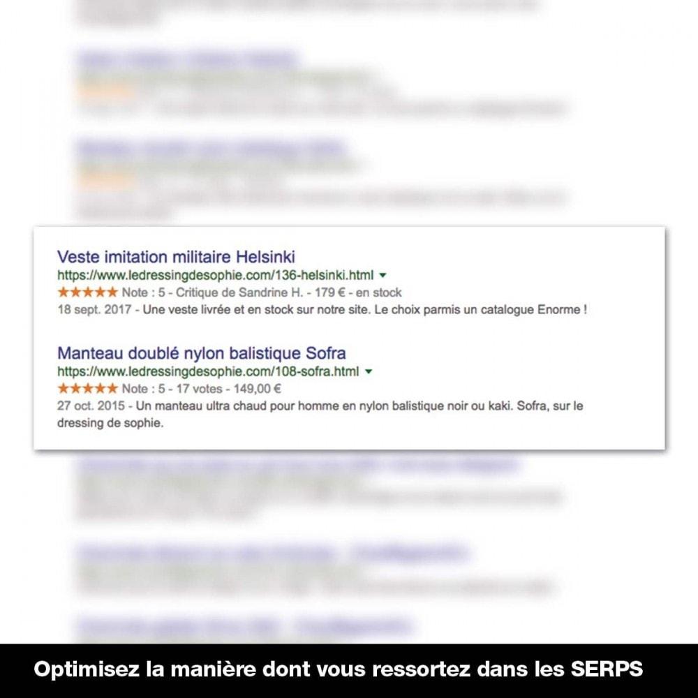 module - Information supplémentaire & Onglet produit - Rich Snippet Ld+Json sur pages produit et accueil - 6