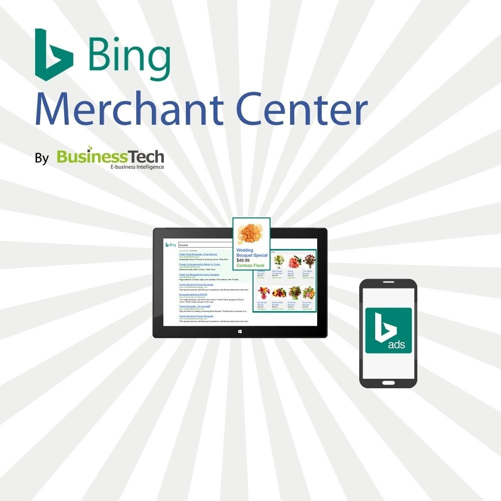 module - SEA SEM (Bezahlte Werbung) & Affiliate Plattformen - Bing Merchant Center - 1