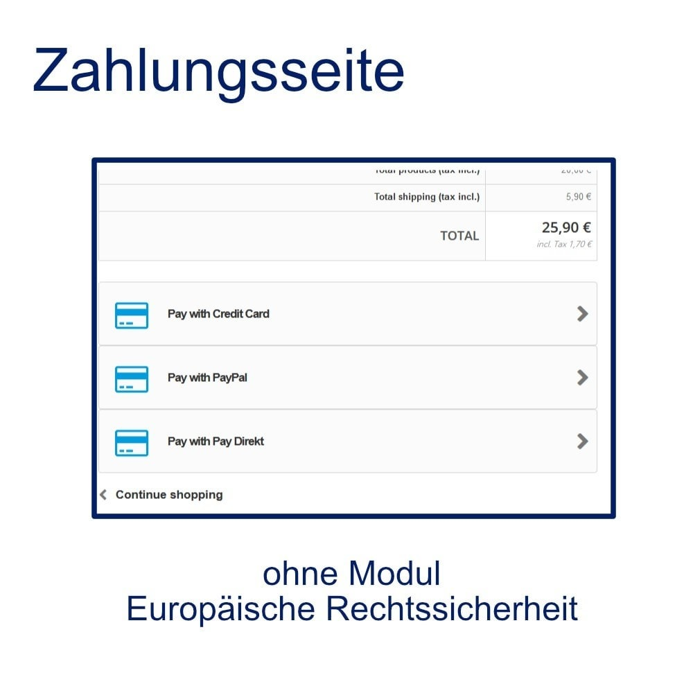 module - Zahlung per Kreditkarte oder Wallet - Concardis Payengine (start.now, speed.up, flex.pro) - 4