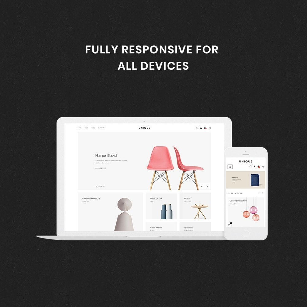 theme - Dom & Ogród - Unique Store Responsive Multiple Prestashop Theme - 2