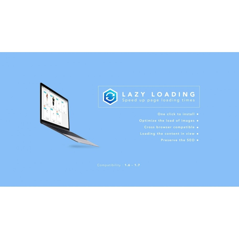 module - Rendimiento del sitio web - Lazy Load / Speed up page loading times - 1
