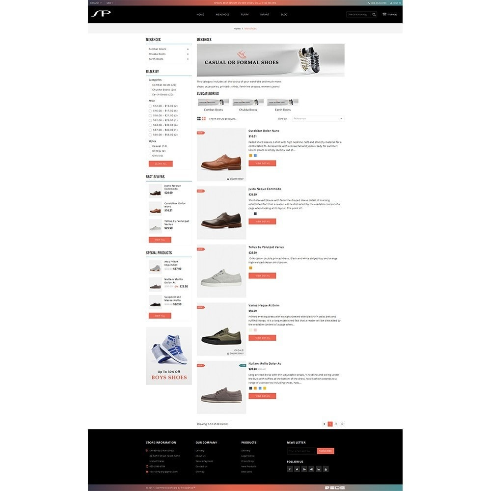 theme - Moda & Calzature - ShoesPlay Shoes Shop - 4