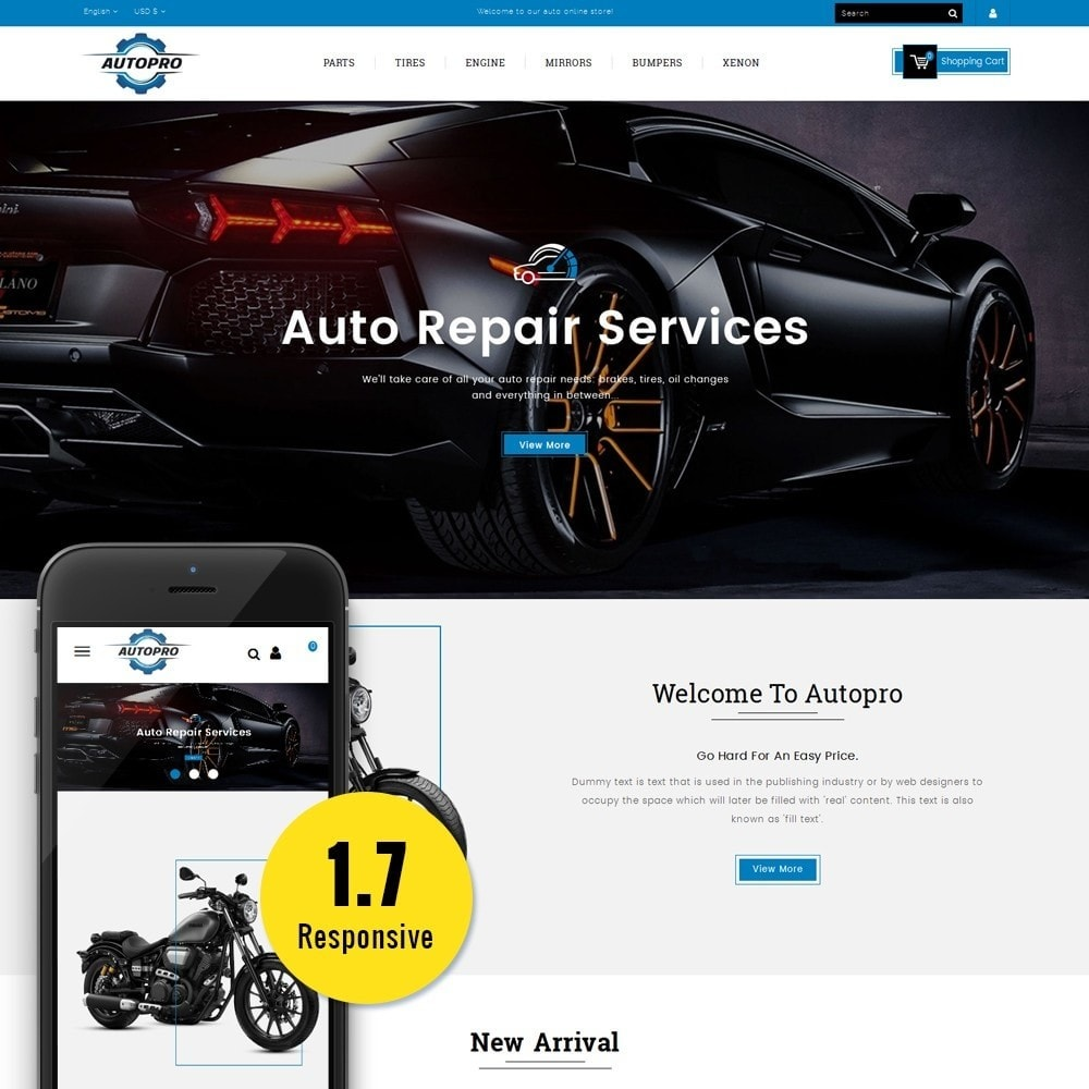 theme - Coches y Motos - Autopro Store - 1