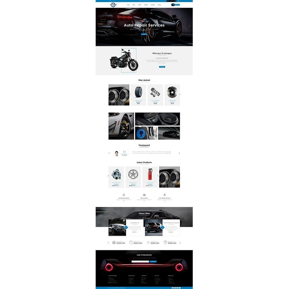 theme - Coches y Motos - Autopro Store - 2