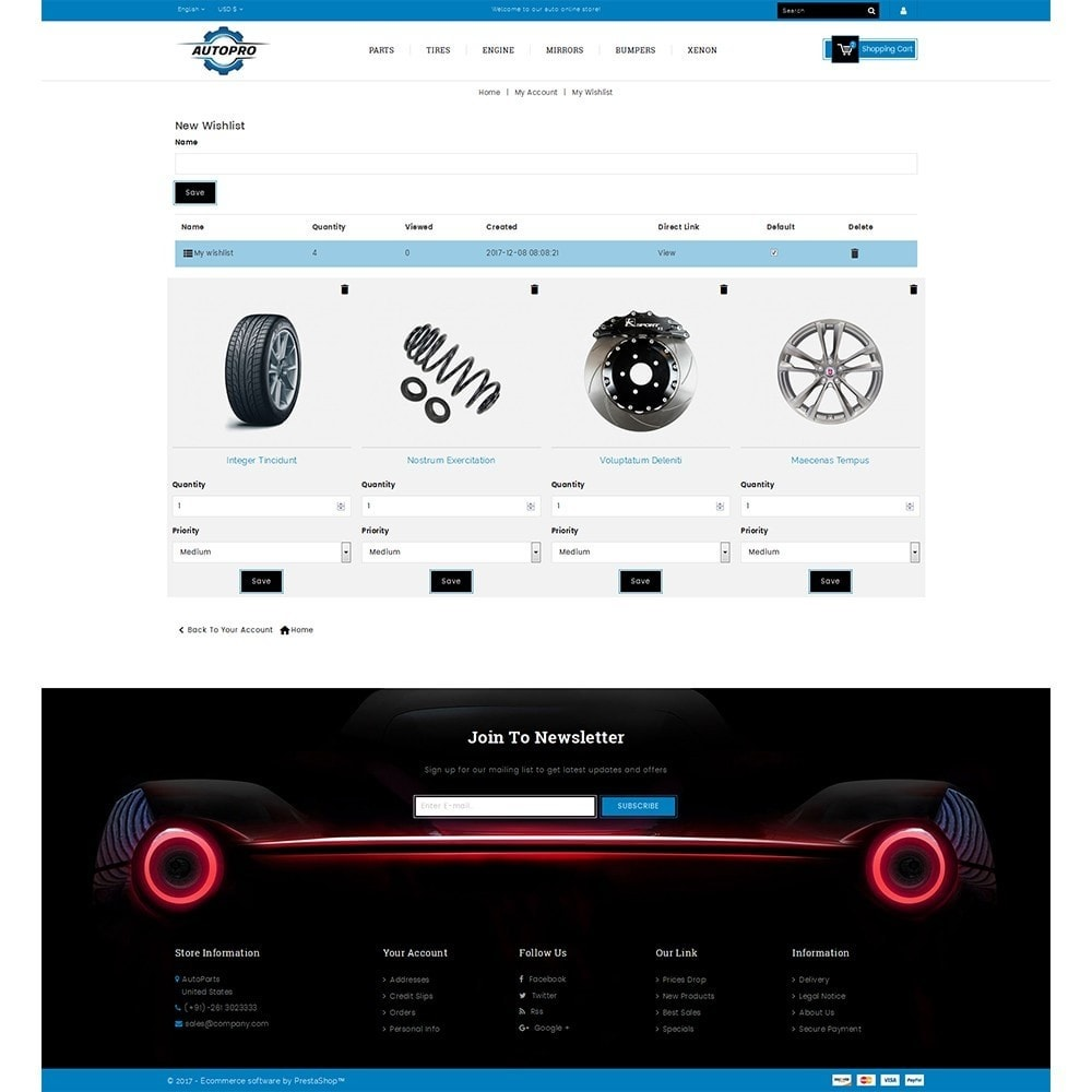 theme - Automotive & Cars - Autopro Store - 10