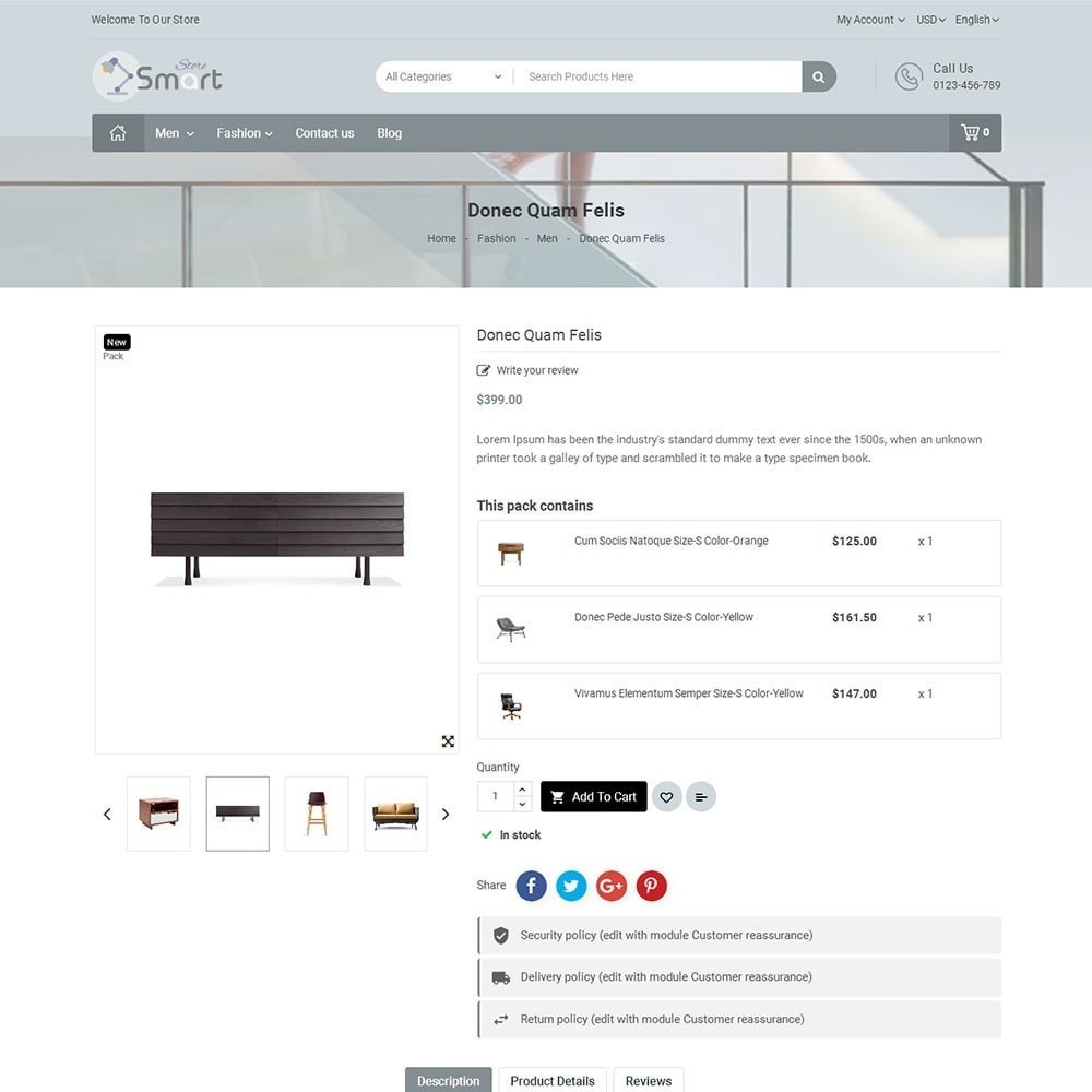 theme - Home & Garden - Furniture Smart Store - 5