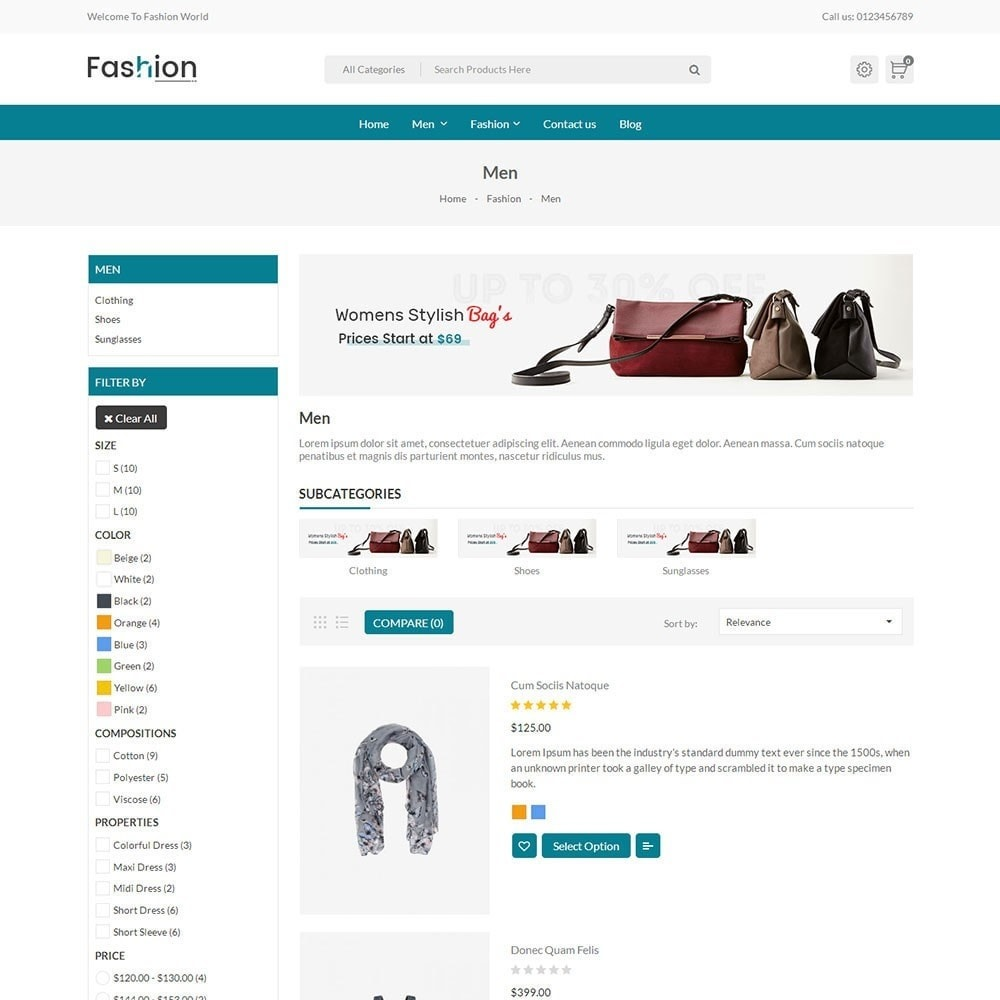 theme - Mode & Chaussures - Fashion Store V2 - 3