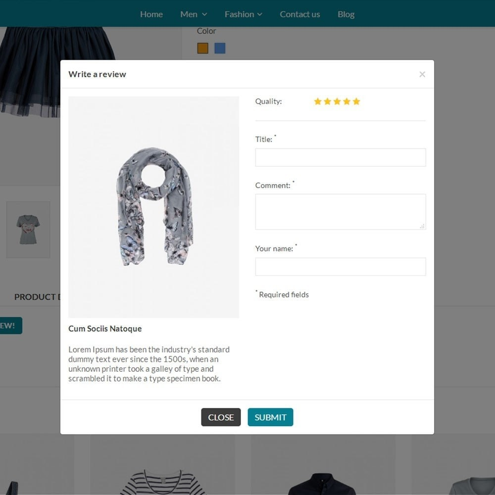 theme - Mode & Chaussures - Fashion Store V2 - 6