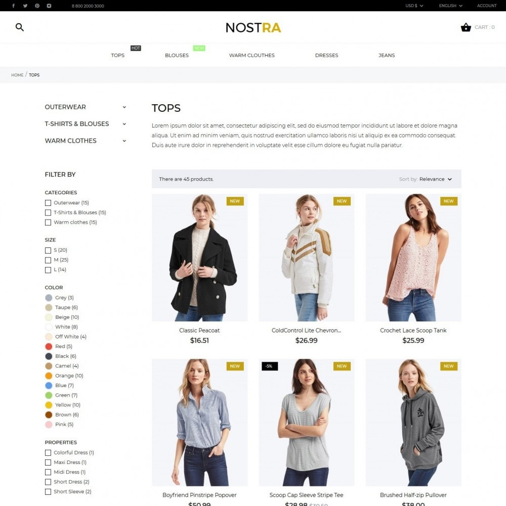 theme - Mode & Schoenen - Nostra Fashion Store - 6
