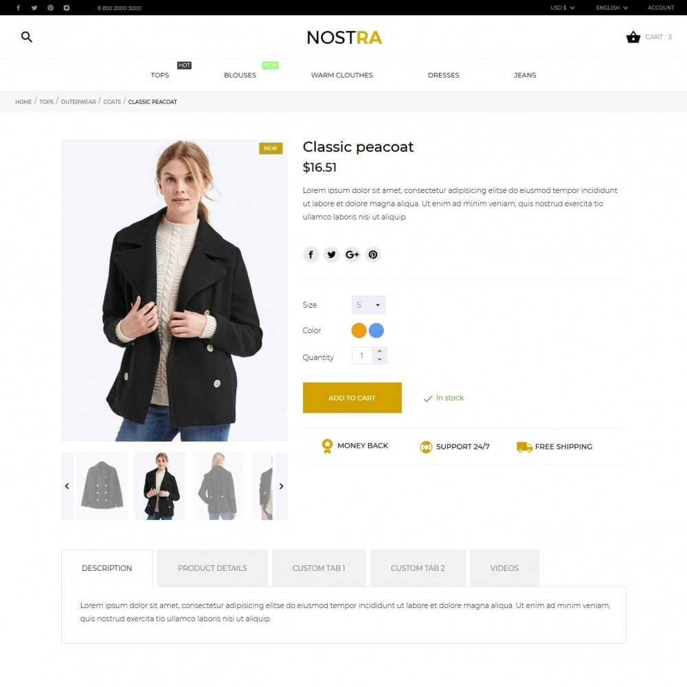 theme - Mode & Schoenen - Nostra Fashion Store - 7