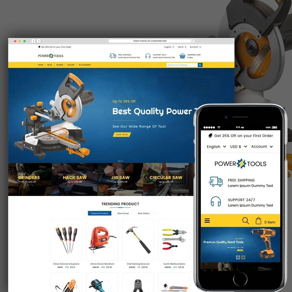 theme - Auto & Moto - Power Tools - 1