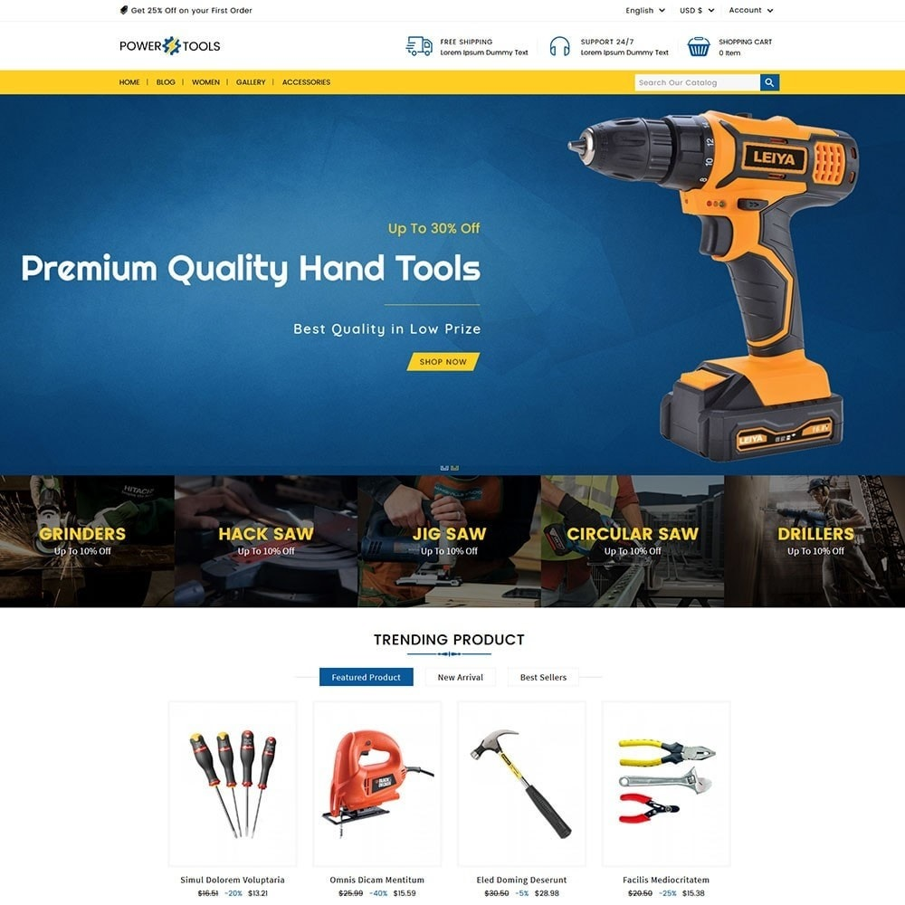 theme - Auto & Moto - Power Tools - 5