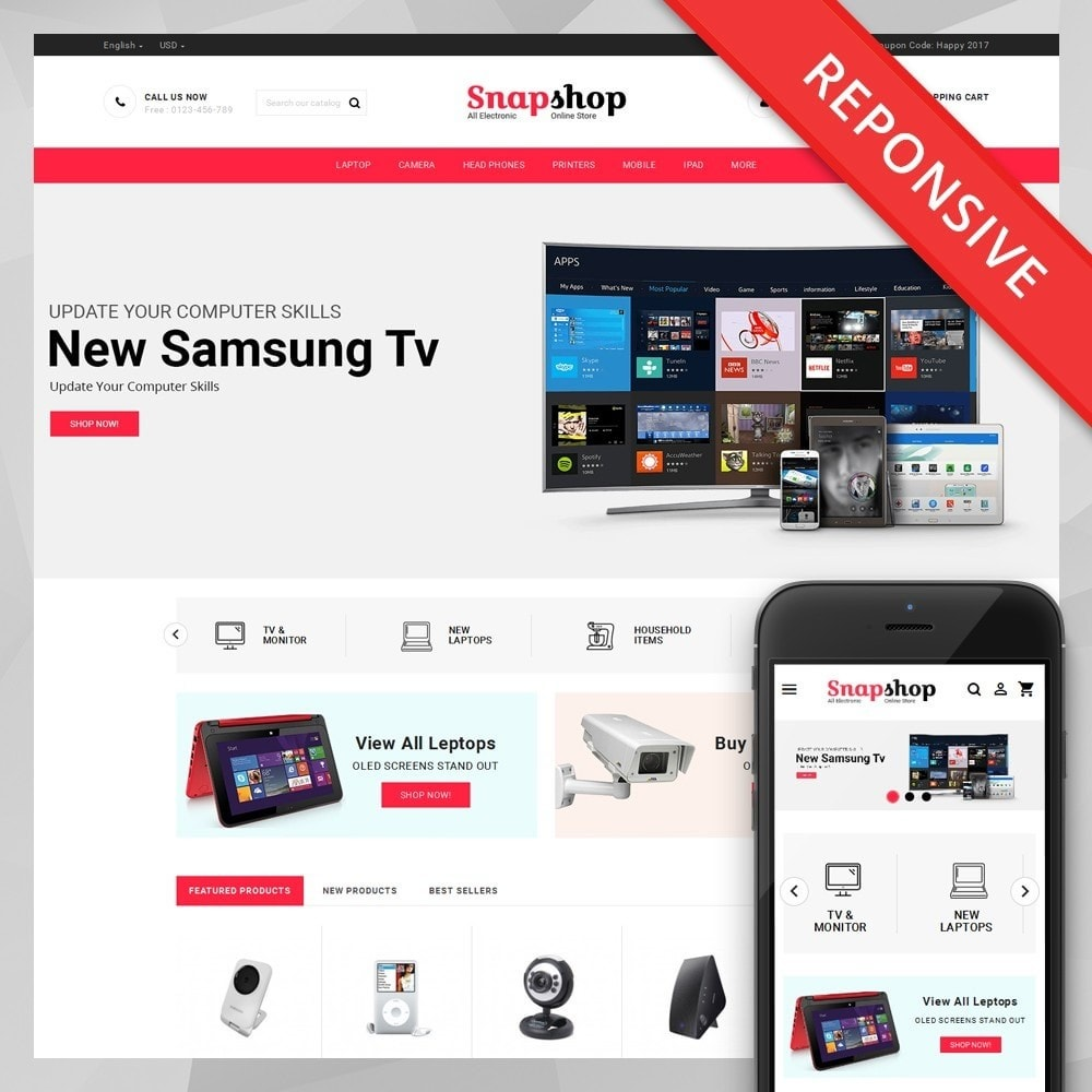 Snapshop - Multi Purpose Store