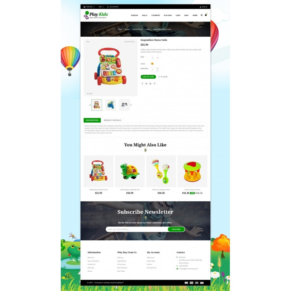 theme - Kids & Toys - Play Kids Store - 5