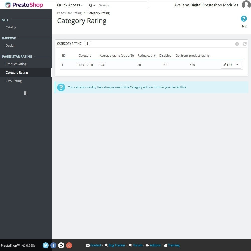 module - SEO (Posicionamiento en buscadores) - Valoraciones páginas Google: Productos - 5