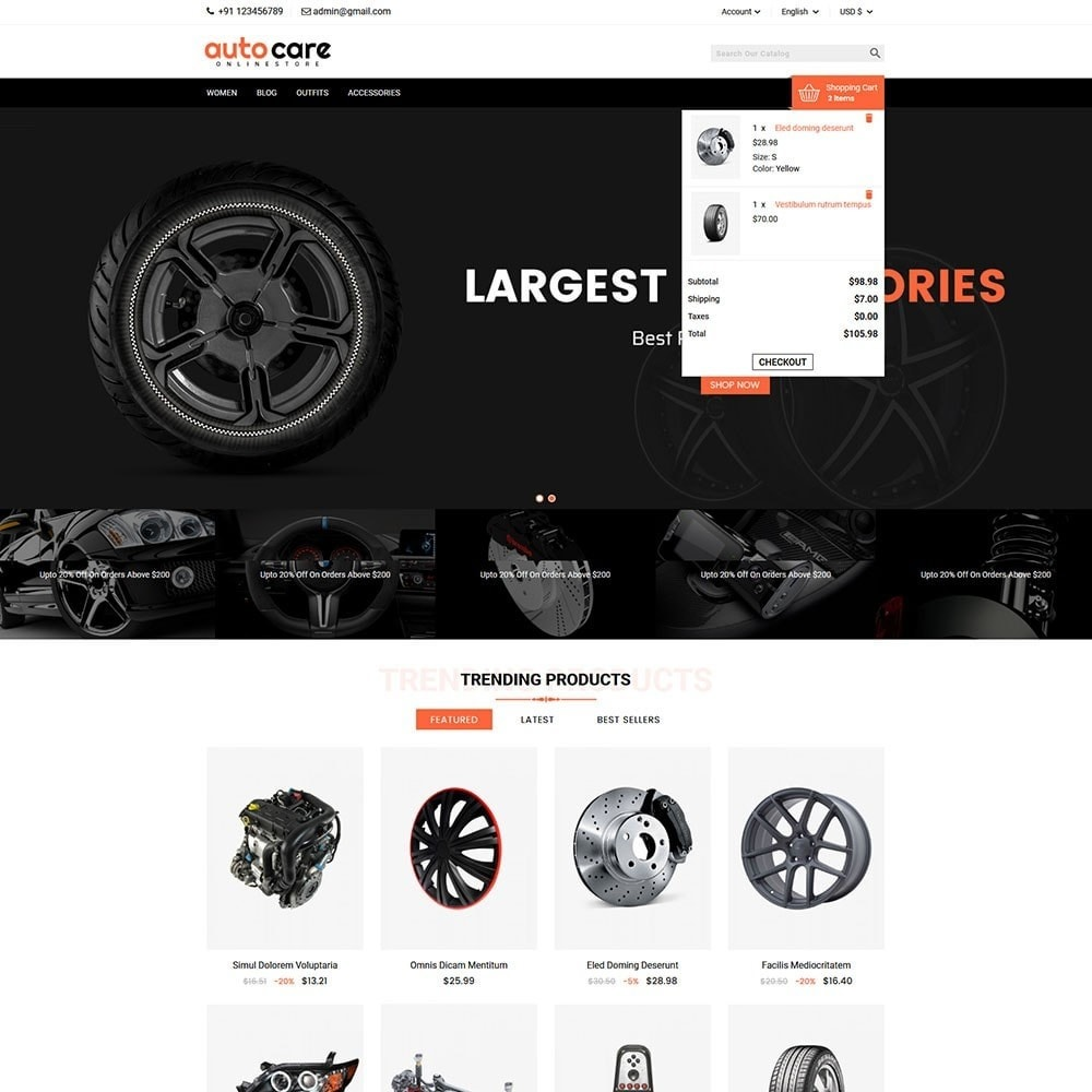theme - Carros & Motos - Auto Care - 3
