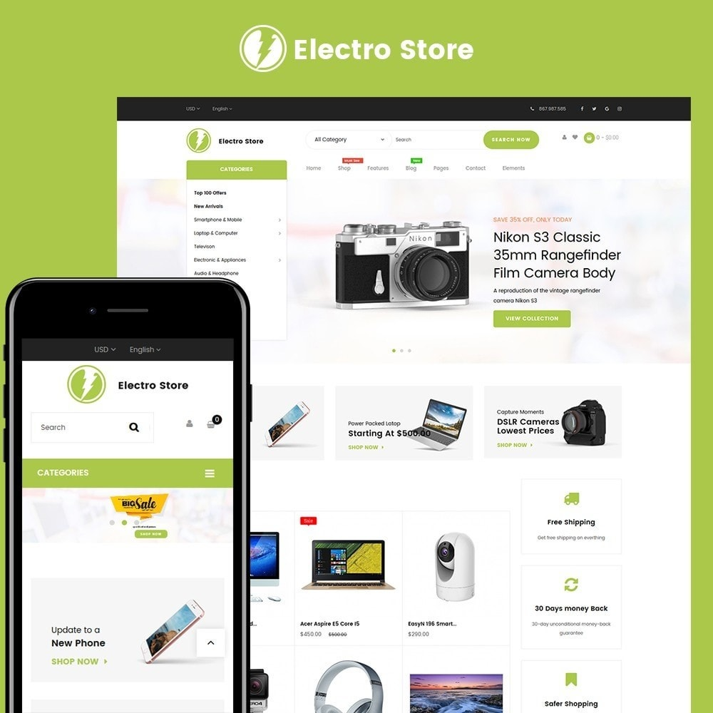 theme - Electronics & Computers - Digital Store - 1