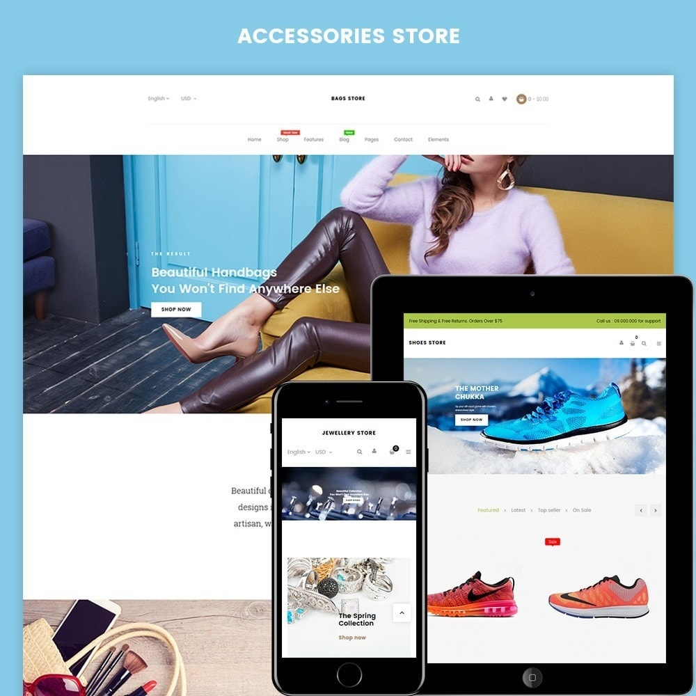 theme - Fashion & Shoes - Accessories - 1