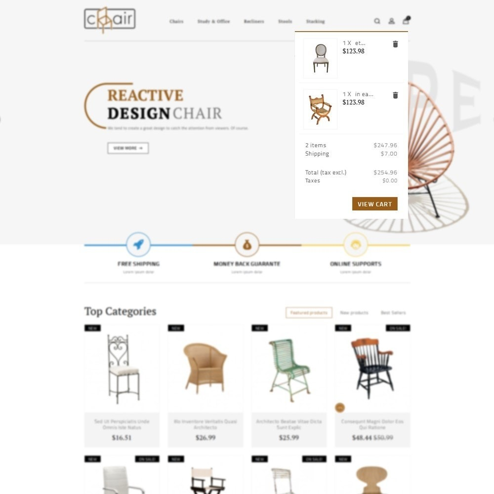 theme - Дом и сад - Chair Store - 7