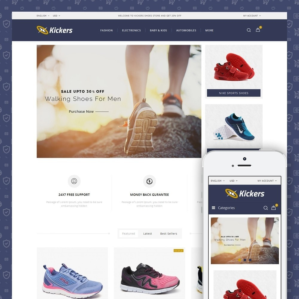Kickers - Sports Shoes Store
