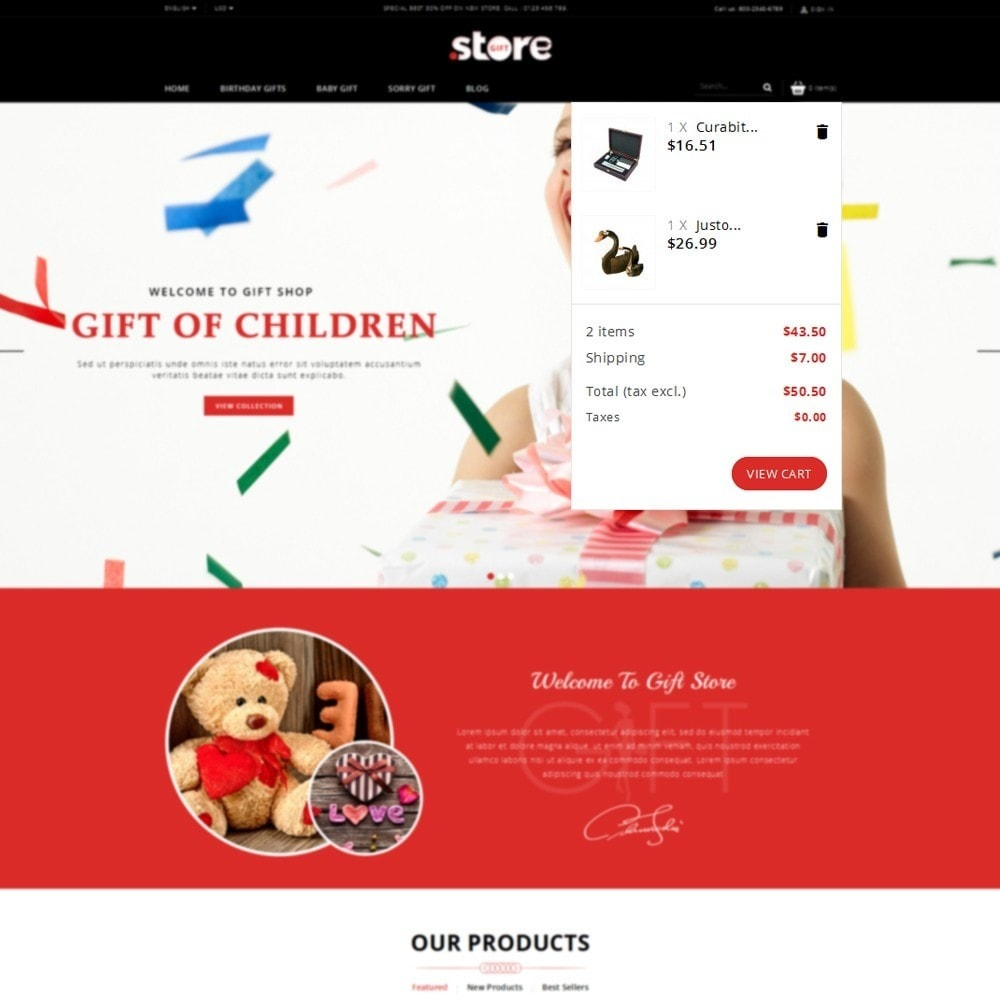 theme - Gifts, Flowers & Celebrations - Gift Store - 5