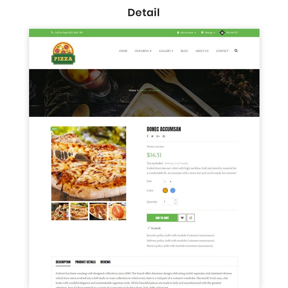 theme - Food & Restaurant - Ap Pizza - 7